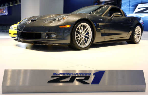 Chevrolet Corvette ZR1.