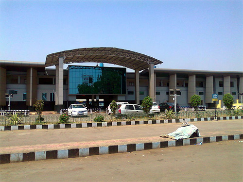 Raipur Railway Station.