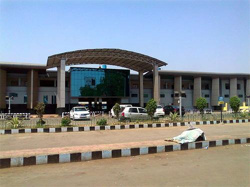 Raipur Railway Station.