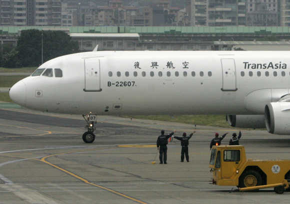 TransAsia Airways is based in Taipei, Taiwan.