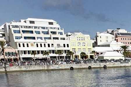 Hamilton Harbor, in Hamilton, Bermuda