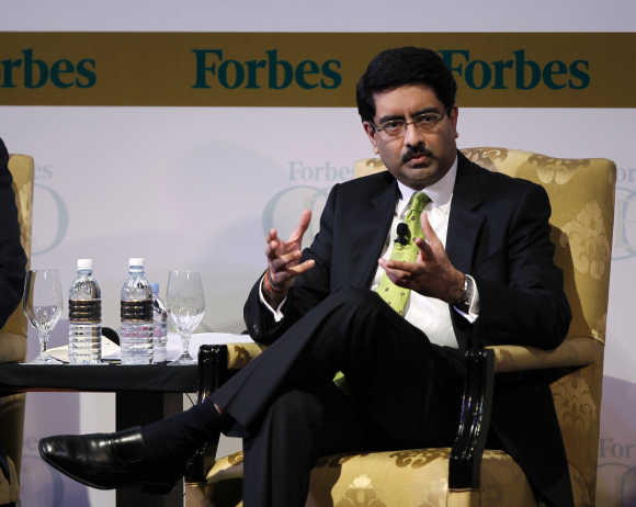 Birla group chief Kumar Birla.