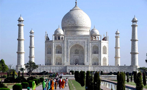 Taj Mahal, Agra.