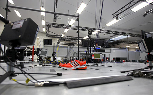 An inside view of the Adidas innovation laboratory