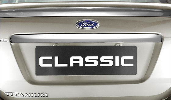 The stunning Ford Classic Titanium is here