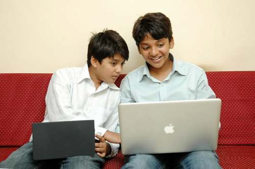 Sanjay (L) and Shravan.