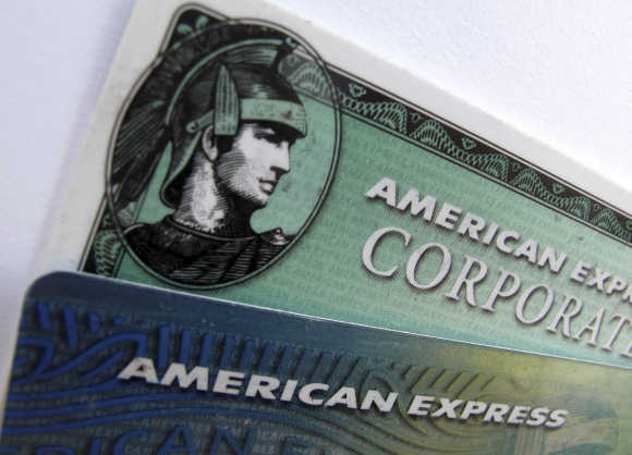 American Express is in the business of credit cards.