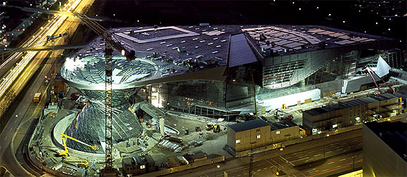 How the stunning BMW Welt was built