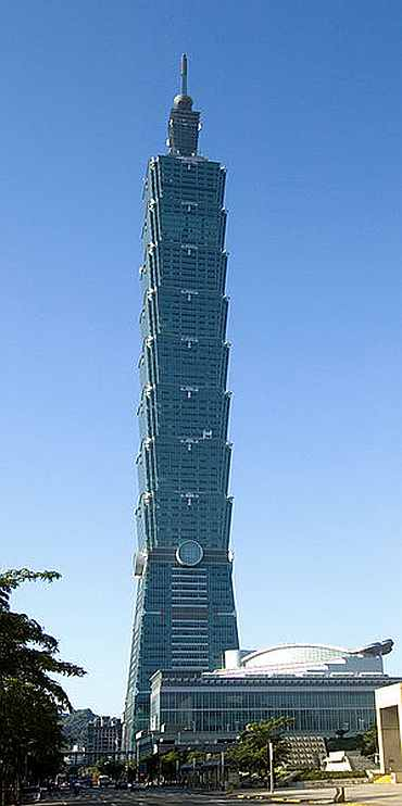 Taipei 101 is the world's tallest eco-freindly building.