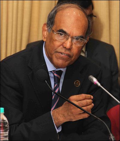 D Subbarao, Governor, RBI.