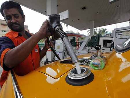 Petrol price cut by 85 paise per litre
