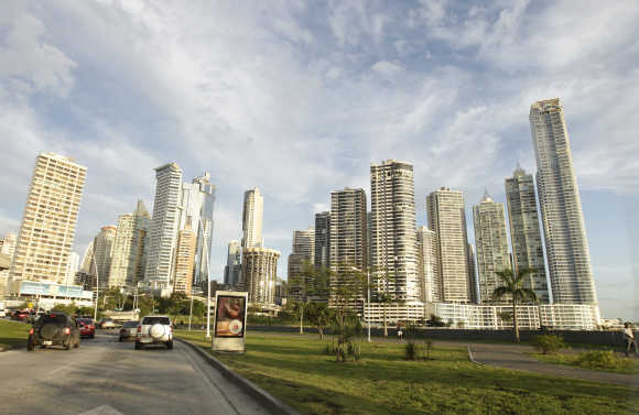 A view of Panama City.