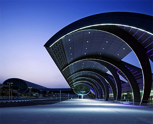 Dubai Airport.