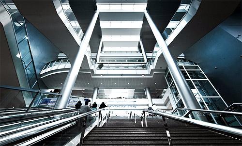 Terminal 1 - DDF Entrance.