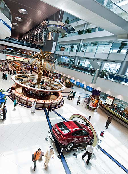 Terminal 1 - DDF View.