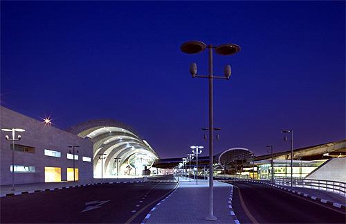 Departure area.