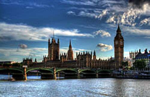 Palace of Westminster, seat of both houses of the Parliament of the United Kingdom.