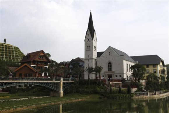 China copies an Austrian village