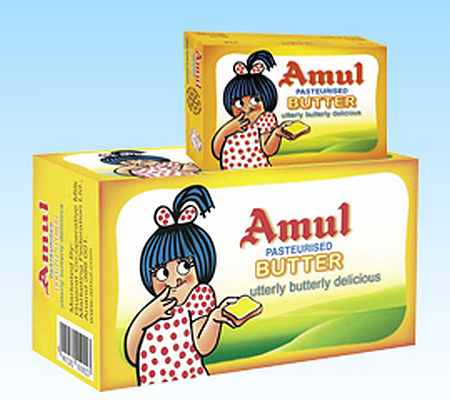 Amul's Utterly, Butterly girl is still winning hearts at 50