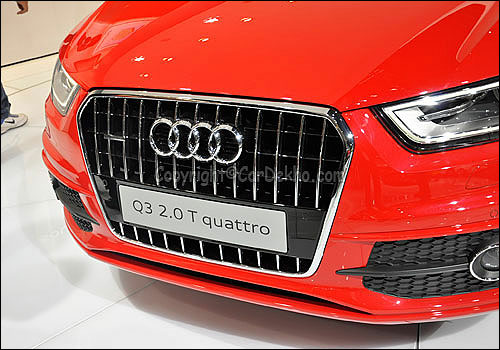 Audi Q3 drives in at Rs 26.21 lakh