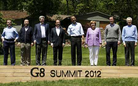 G-8 Summit at Camp David