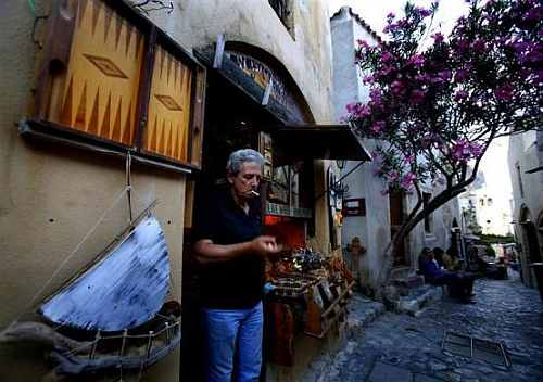 Lonely Greece: Where are all the tourists?