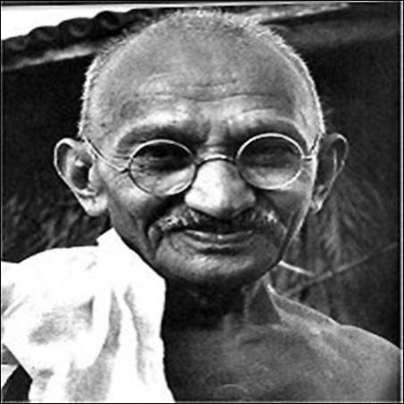 Gandhiji.