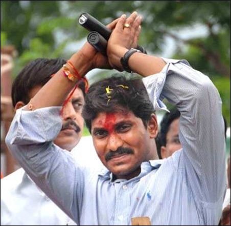 Jagan Mohan Reddy.