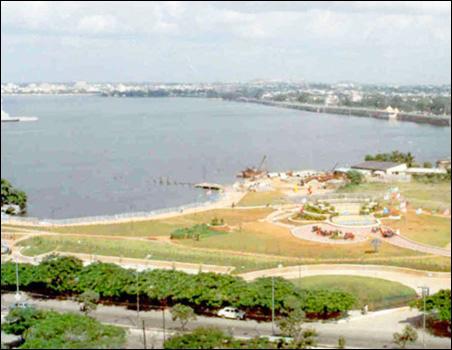 Lumbini Park, Hyderabad.