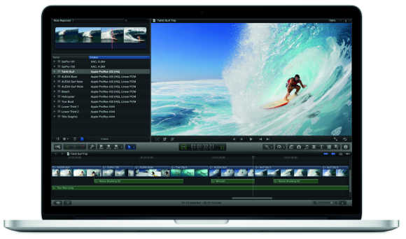 The all-new MacBook Pro ships with OS X Lion.