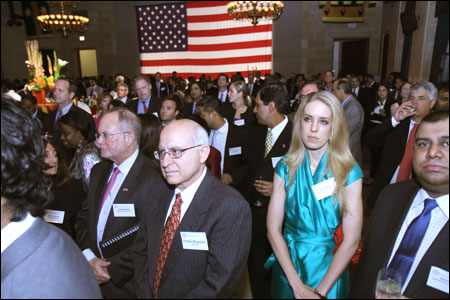 An elite gathering at the USIBC Gala in Washington DC.