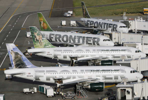 Frontier Airlines.