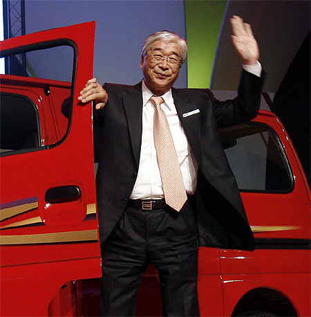 Shinzo Nakanishi.