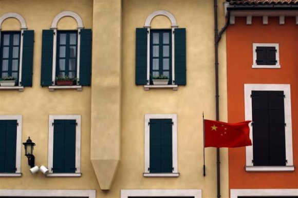 Italian village meets China