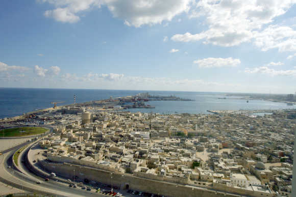 A view of Tripoli's Old City.