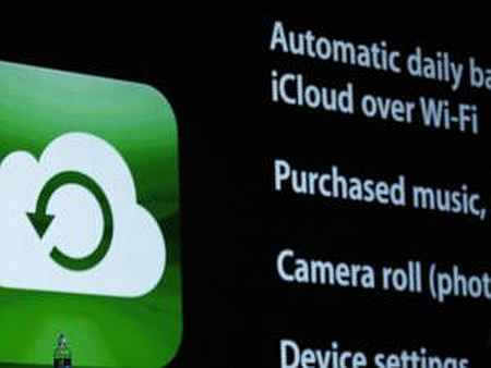 iCloud syncs Pages, Numbers, Keynotes, Messages, Reminders and Notes.