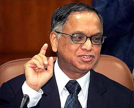 N R Narayana Murthy.