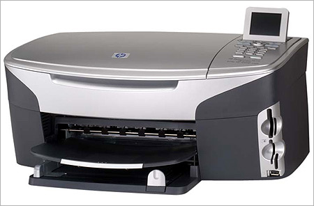 HP Photo-copier machine.