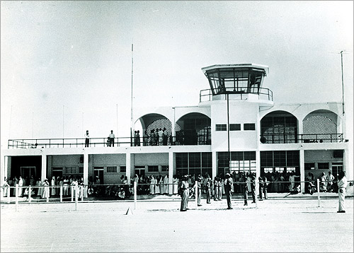 DXB 1960s Airside.