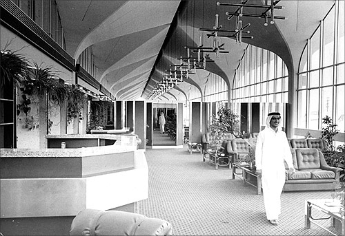 Historic photos of Dubai International Airport