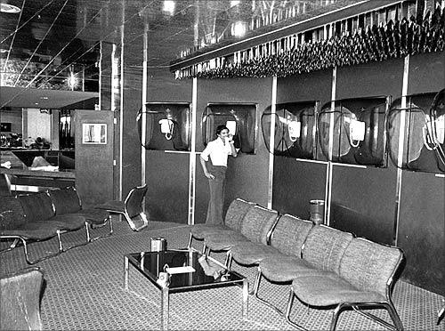 Transit Lounge 1970s.