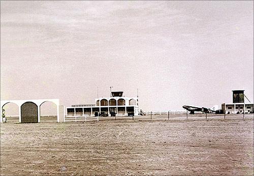 Dubai Airport 1965.