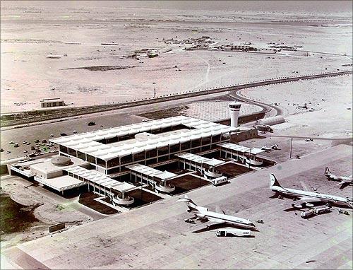 Dubai Airport 1971.