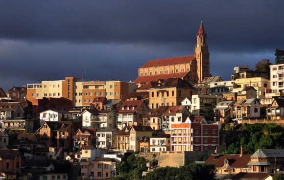 A view of Madagascar's capital Antananarivo.
