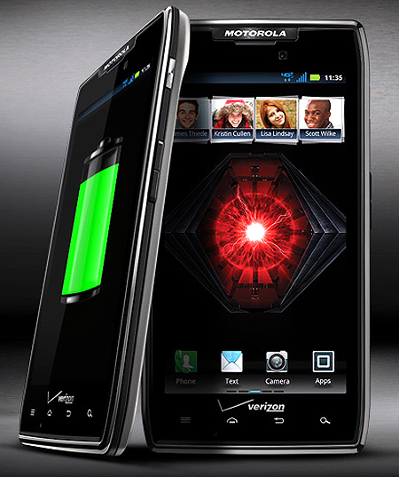 Motorola Razr Maxx.