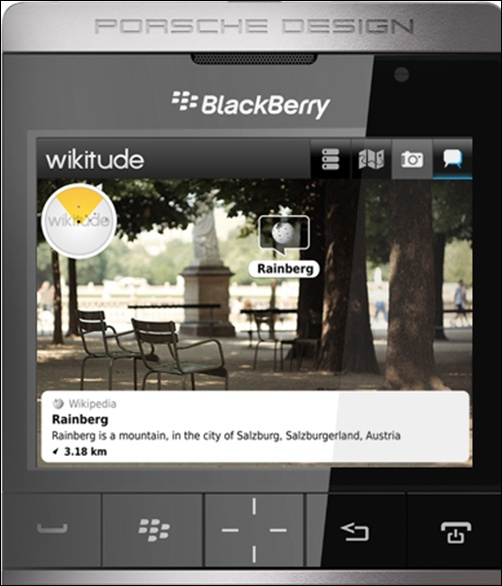 BlackBerry Porsche P-9981.