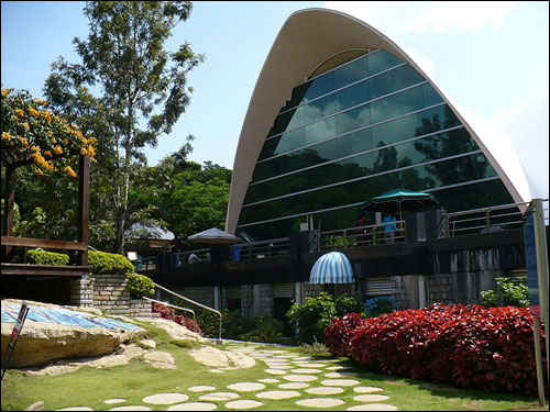 Canteen at Infosys' Bangalore campus.