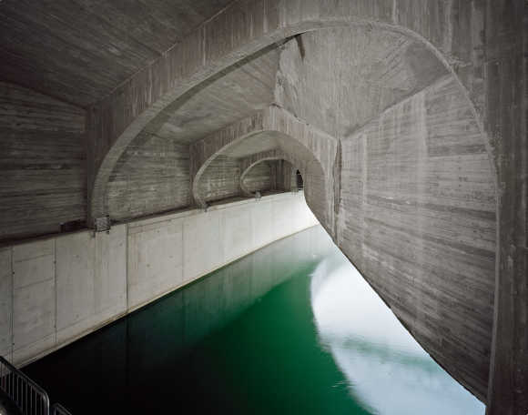 Stunning images of a hydroelectric plant