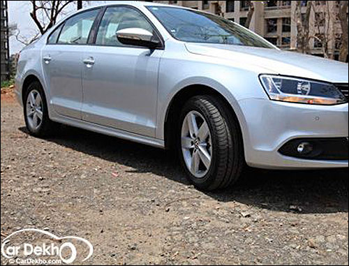 The Rs13.60 lakh Jetta petrol is finally in India