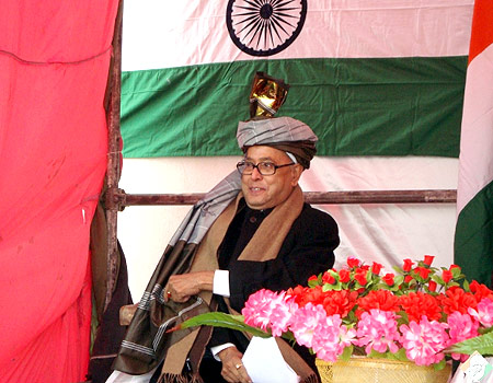 Pranab Mukherjee in Afghanistan.